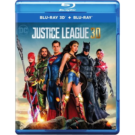 Justice League (3D Blu-ray + Blu-ray)