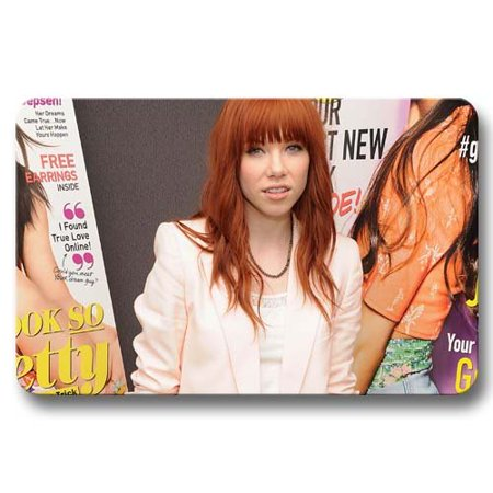 Deyou Carly Rae Jepsen Doormat Outdoor Indoor Floor Mats Non Slip Bathroom Mats Size 18X30 Inch