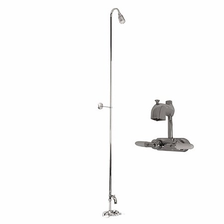 Barclay Washerless Diverter Faucet with Riser and Shower HeadBarclay Washerless Diverter Faucet with Riser and Shower Head  . Black Shower Head And Faucet. Home Design Ideas
