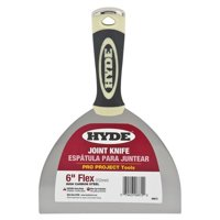 "Hyde 4-1/2""L, 8"", Joint Knife, Black/Cream, 06872"