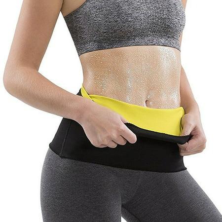 SLIMBELLE Neoprene Waist Sweat Belt Premium Waist Trainer Trimmer Belt Body Shaper Hot Sauna Cincher