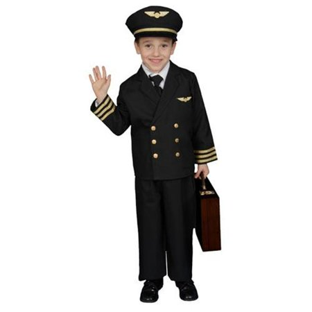 Dress Up America Pilot Boy Jacket Children's Costume](Bomber Pilot Costume)