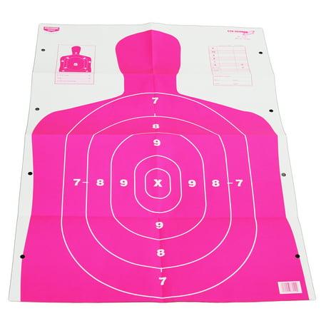 "Birchwood Casey Eze-Scorer 23"" x 35"" BC27 Pink 100 Paper Targets 37040 by"