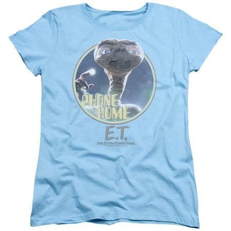 Et The Extra-Terrestrial Sci-Fi Movie Spielberg Phone Home Women's T-Shirt Tee