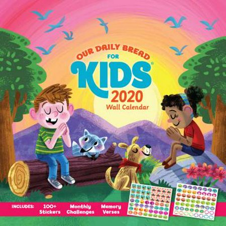 Our Daily Bread for Kids Wall Calendar 2020 ()