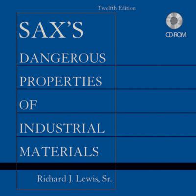 Saxs Dangerous Properties Of Industrial Materials