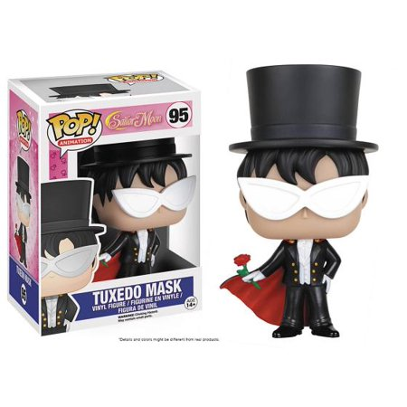 Funko 6351 POP Anime Sailor Moon Tuxedo Mask Figure