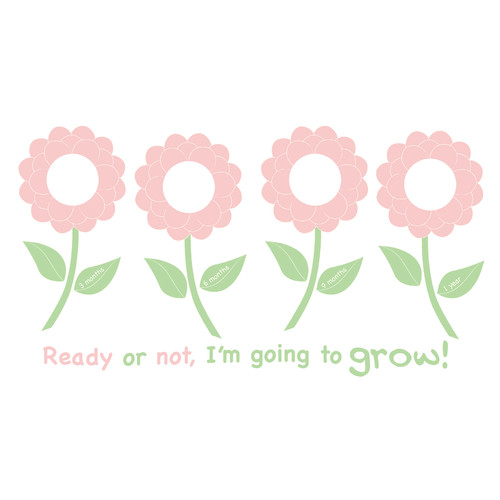 Forget Me Know Photo Frame Kit -WallPops Baby