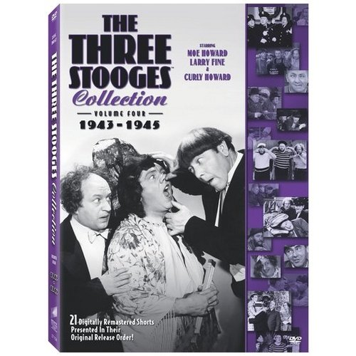 The Three Stooges Collection, Vol. 4: 1943-1945 (Full Frame)