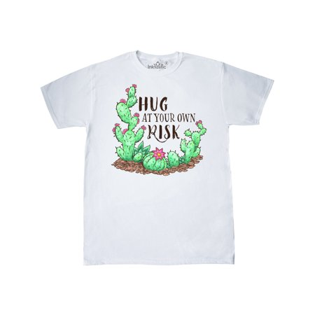 Hug At Your Own Risk Cacti and Succulents T-Shirt
