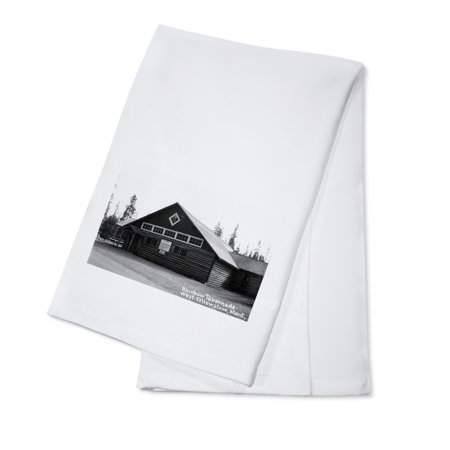 West Yellowstone, Montana - Rainbow Tabernacle Photograph (100% Cotton Kitchen Towel) (Rainbow Dash 20)