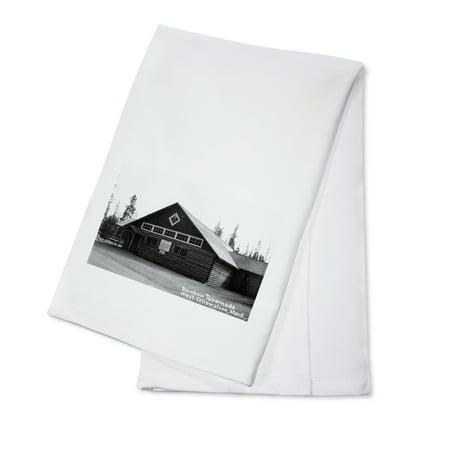 West Yellowstone, Montana - Rainbow Tabernacle Photograph (100% Cotton Kitchen Towel) - Rainbow Dash 20