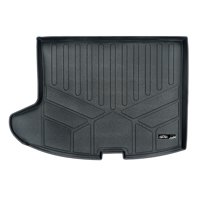 SMARTLINER All Weather Cargo Liner Floor Mat Black for 2007-2017 Jeep Patriot/Compass (Old Body Style)