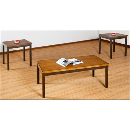 United Furniture 3 Piece Mixed Media Coffee Table Set - Barley