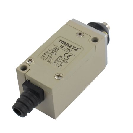 HL-5100 Short Push Plunger Momentary Limit Switch 380V 10A - image 1 de 1