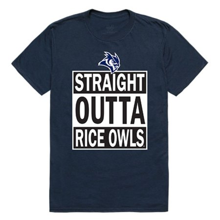 (Rice University Owls NCAA Straight Outta T-Shirt)