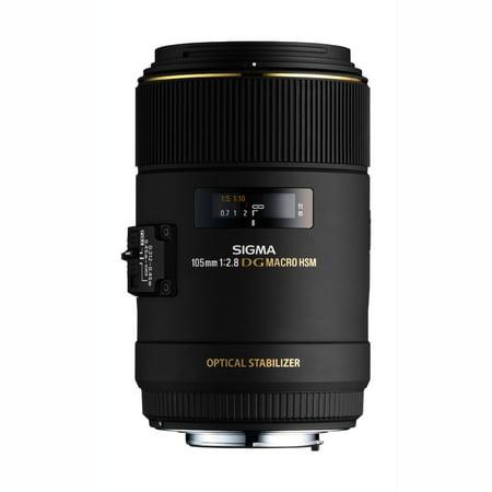 Sigma 105mm F2.8 EX DG OS HSM Macro Lens for Canon SLR Camera - International Version (No