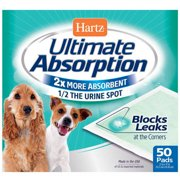 Ultimate Absorption Puppy Pads, 50 ct