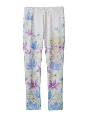 738b28d6baf56 Product Image Jumping Beans Girls Elsa Floral Casual Leggings