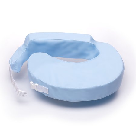 My Brest Friend Nursing Pillow Waterproof Slipcover (Pillow not included), Wipe Clean Antimicrobial Slipcover, Blue