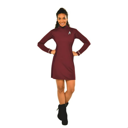 Star Trek Womens Deluxe Uhura Halloween Costume](Star Trek Female Costumes)