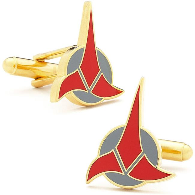 Star Trek ST-KLG-GL Star Trek Klingon Cufflinks