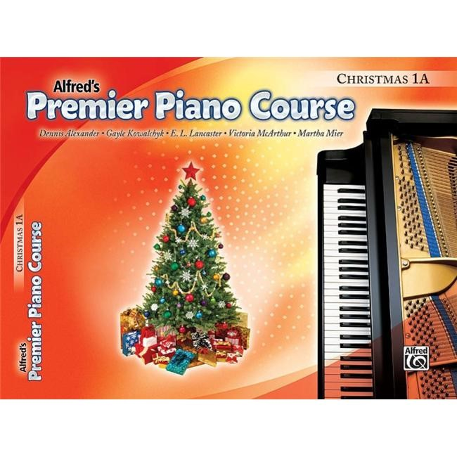 Alfred 00-30878 Premier Piano Course- Christmas Book 1A - Music Book