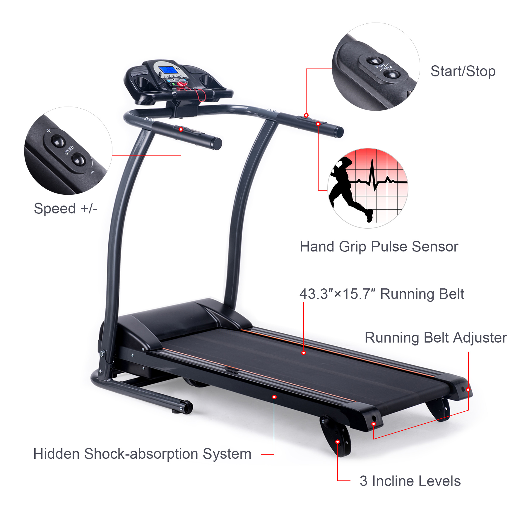 Gym Running Machine Bd Price | Running Machine Mini