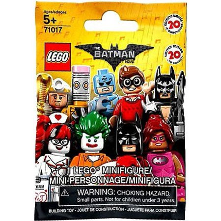 LEGO Minifigures Series 17 The Batman Movie Mystery Pack