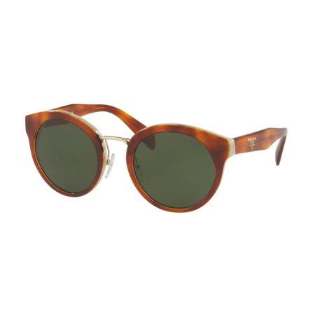 fcfb25171e15f Sunglasses Prada PR 5 TS TH71I0 LIGHT HAVANA STRIPED WHITE