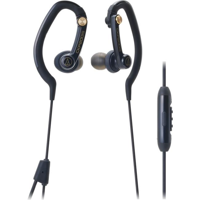 Audio-Technica ATH-CKP200iS SonicSport In-Ear Headphones for Smartphones