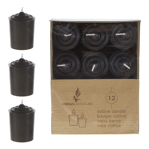 Synergy Retail Group Mega Votive Candle Set (Set of 12)