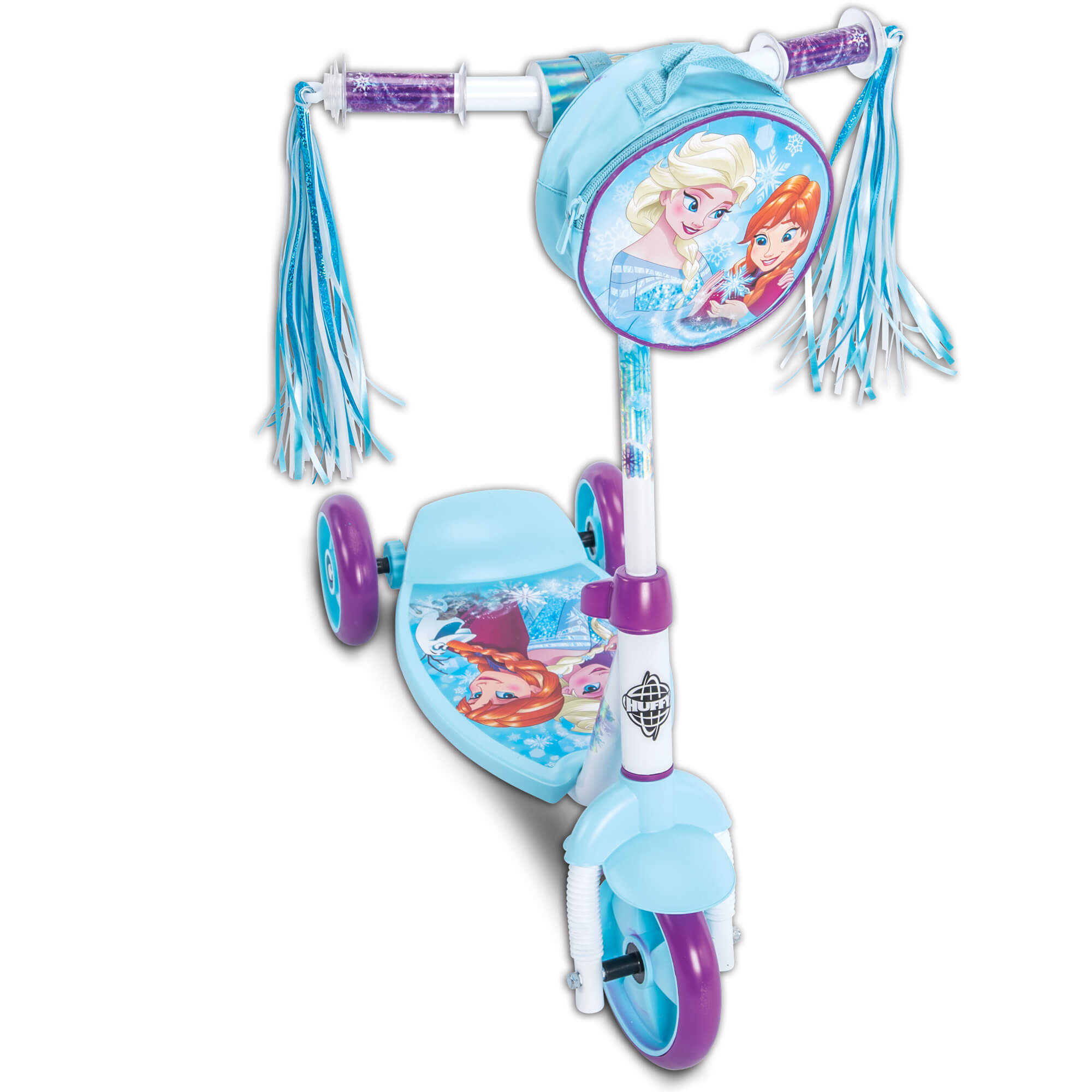 Disney Frozen Girls' 3-Wheel Preschool Scooter, by Huffy by Huffy