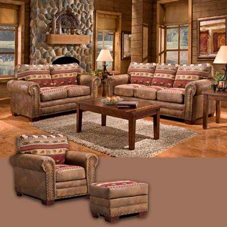 American Furniture Classics Sierra Lodge 4 Piece Set