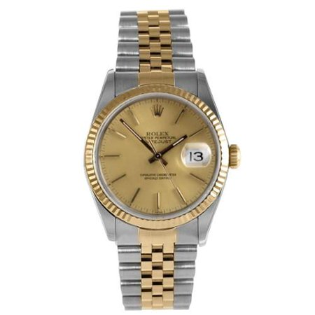 81f8a4a8a82 Rolex - Rolex Pre-Owned Men s Datejust Stainless Steel  Yellow Gold ...
