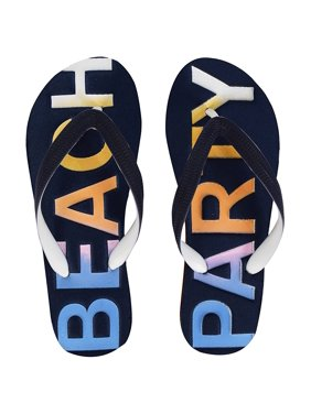 5606d39b6 Product Image Peach Couture Womens Summer Beach Flip Flops Casual Strappy  Slip ons Navy 9