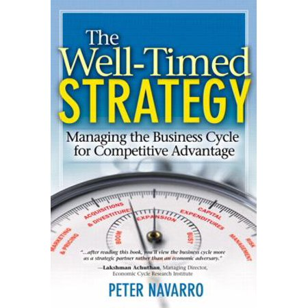 The Well Timed Strategy Managing The Business Cycle For Competitive Advantage By Peter Navarro
