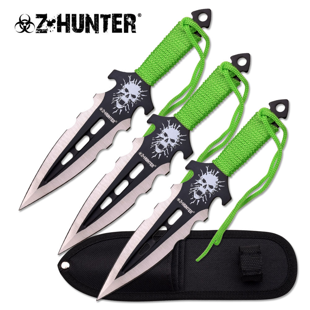 Z Hunter Throwing Knife Set ZB-135-3