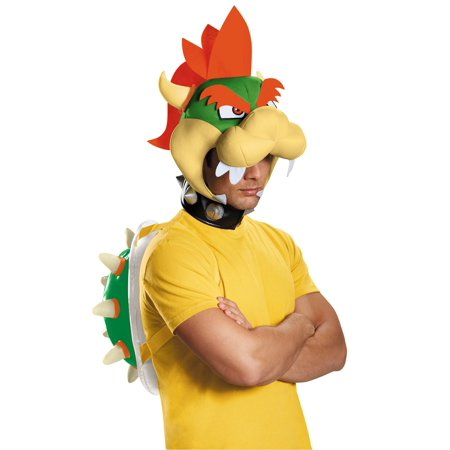 Super Mario Bros: Bowser Costume, Standard One-Size - Mario Kart Princess Peach Costume