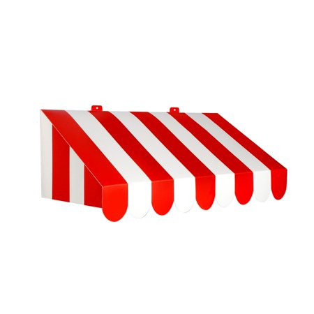 (Pack of 6) Beistle 3-D Red & White Awning Wall Decoration](Beistle Company Vintage Halloween Decorations)