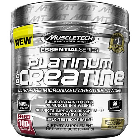 (MuscleTech Platinum 100% Creatine Powder, 80 Servings)