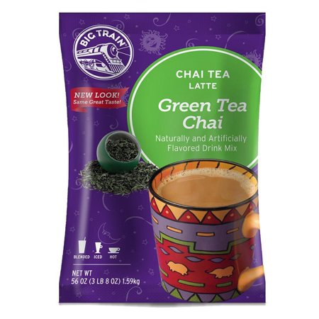 Big Train Chai Tea Latte Mix, 3.5 lb Bag - Green Tea Chai Latte Mix