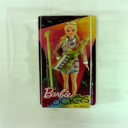 - You Can Be Anything Barbie and the Rockers Doll measures approximately 12 inches tall with Lime Keytar and Coordinating Micropho