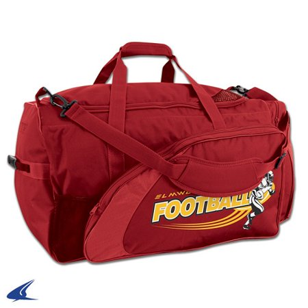 CHAMPRO Football Equipment Bag Red - Walmart.com 7224a5ed49a6e
