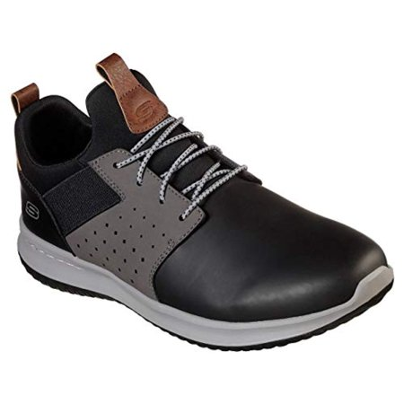 Skechers Men S, Delson - Axton, Casual, Black/Gray