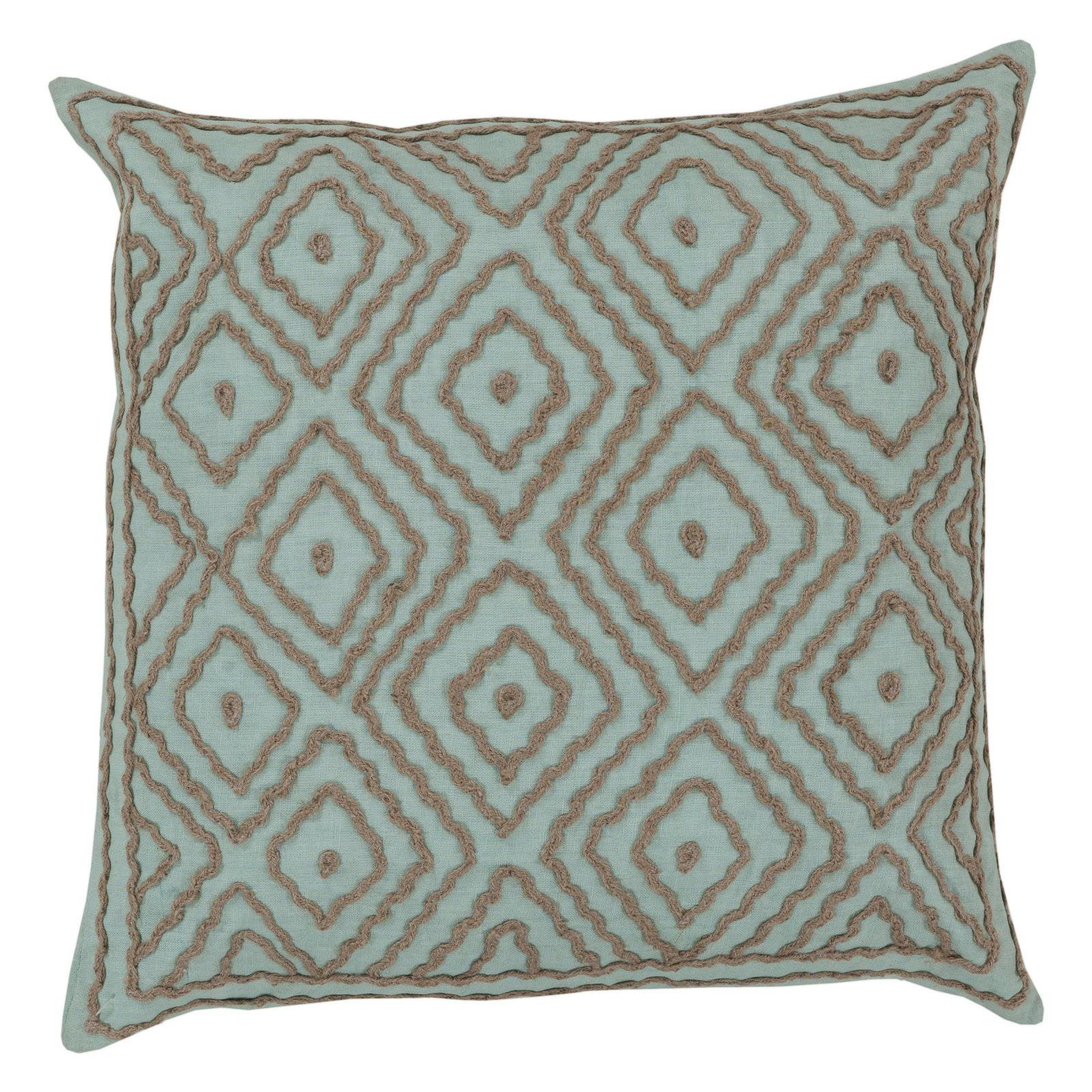 Surya Multi-Dimensional Diamond Decorative Pillow