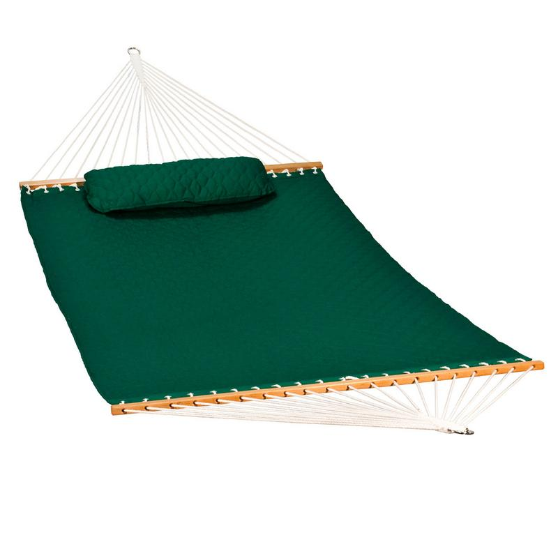 13' Diamond Quilted Hammock w  Matching Pillow by Algoma Net Company