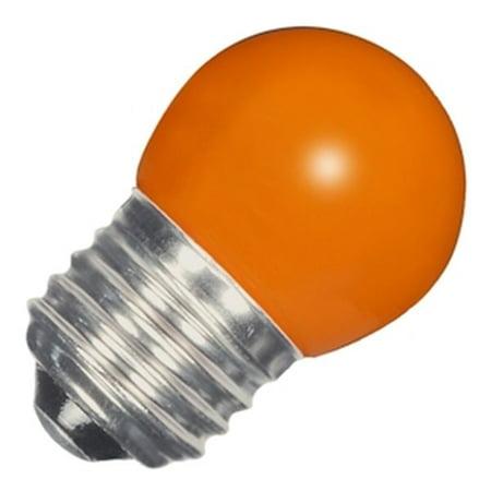 S11 Led (Satco 09164 - 1.2W S11/OR/LED/120V/CD S9164 Sign Scoreboard LED Light)