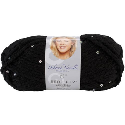 Deborah Norville Collection Serenity Chunky Sequin Yarn