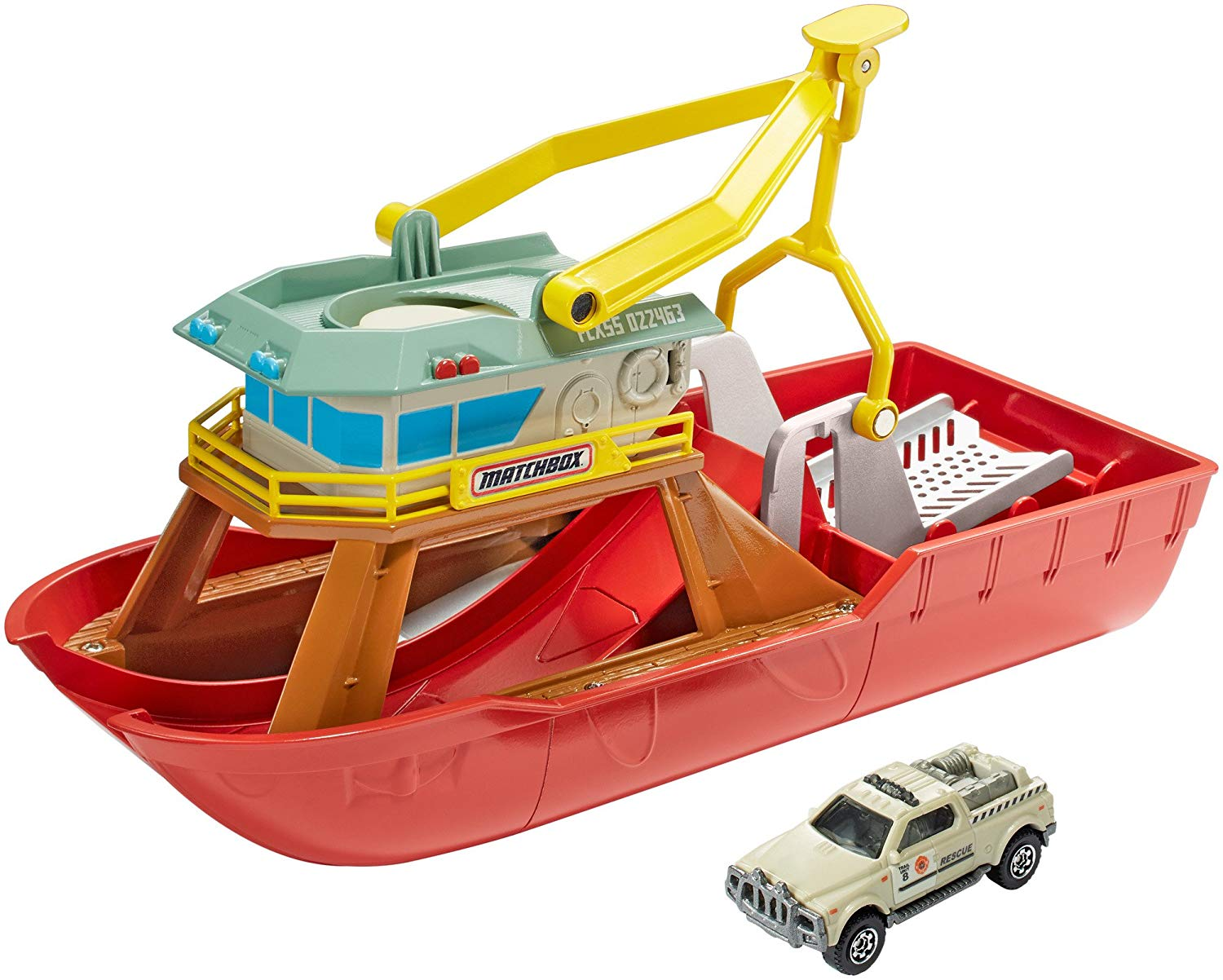 Color Changer Ship Playset, Amazing play set with real world inspired By Matchbox by